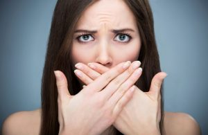 Bad Breath Treated with Braces