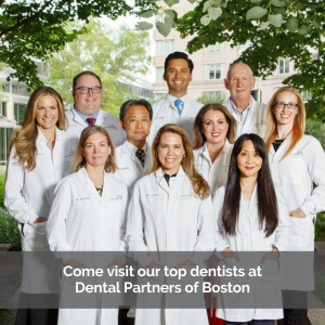 Team of Top Dentist at Dental Partners of Boston